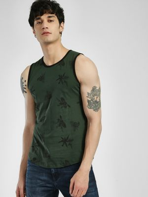 Rigo Tropical Print Vest