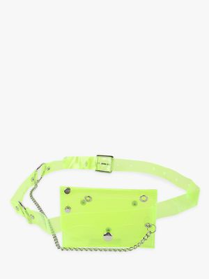KOOVS Perspex Studded Bum Bag