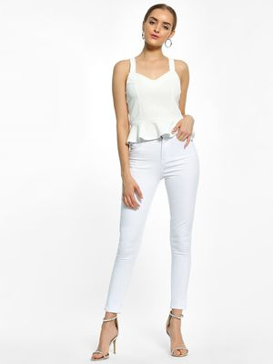 K Denim KOOVS Basic High-Waist Skinny Jeans