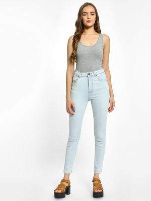 K Denim KOOVS Light Wash Skinny Jeans