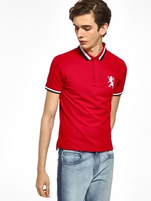 Giordano Embroidered Logo Polo Shirt