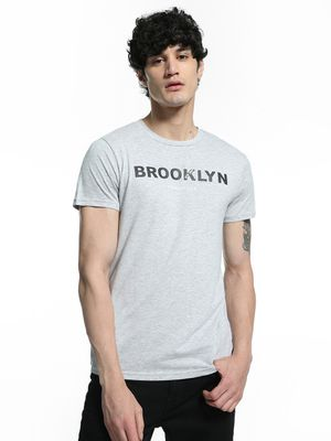 Kenneth Cole Brooklyn Placement Print T-Shirt