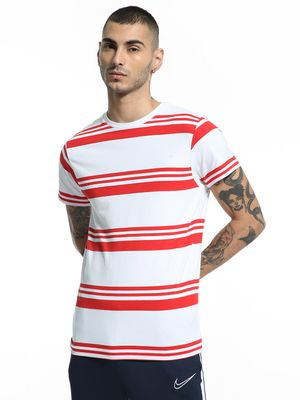 Kenneth Cole Colour Block Stripe T-Shirt