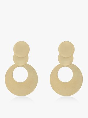 Zero Kaata Symmetric Drop Earrings