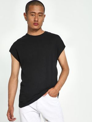 KOOVS Basic Cap Sleeve T-Shirt