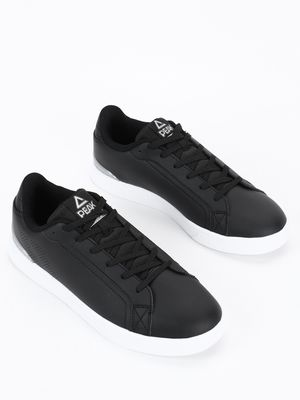 Peak Perforated Side Lace-Up Sneakers