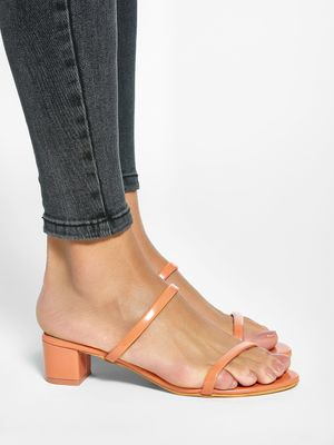 My Foot Couture Low-Rise Heeled Sandals
