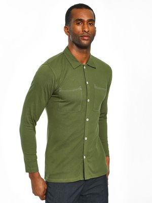 Garcon Pique Patch Pocket Shirt