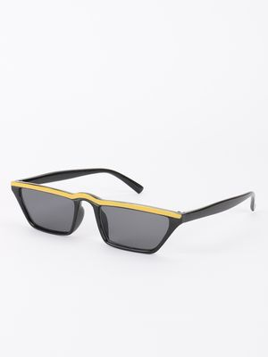 Sneak-a-Peek Sleek Frame Classic Sunglasses