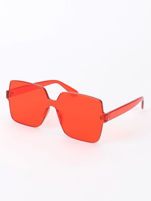 Sneak-a-Peek Coloured Lens Retro Sunglasses