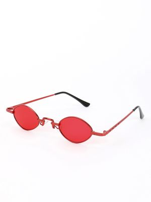 Sneak-a-Peek Micro Coloured Lens Retro Sunglasses
