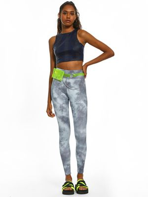 New Look Tie & Dye Print Leggings