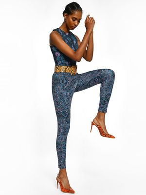 K ACTIVE KOOVS Abstract Print Leggings