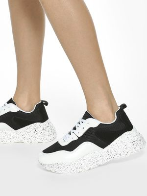 My Foot Couture Splatter Paint Chunky Sole Sneakers