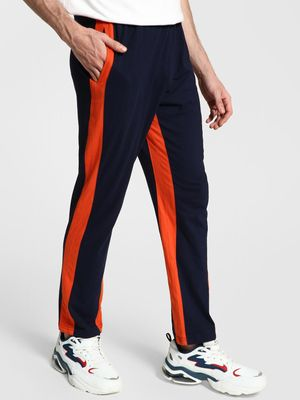 Blotch Contrast Side Tape Jog Pants