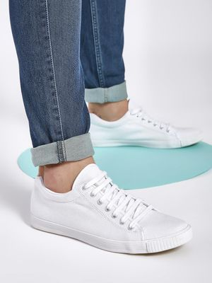 KOOVS Lace-Up Gusset Sneakers