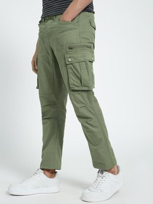 Flying Machine Utility Pocket Slim Fit Trousers