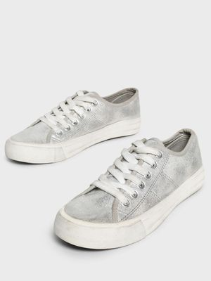 People Metallic Shimmer Canvas Shoes
