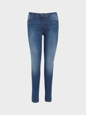 Flying Machine Mid Wash Skinny Jeans