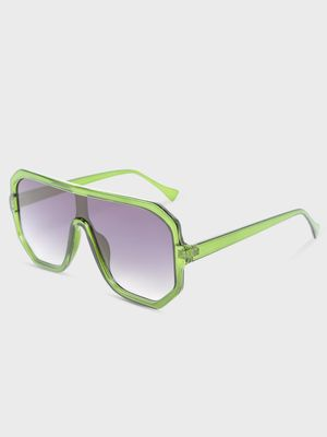 Pataaka Two-Tone Clear Lens Sunglasses