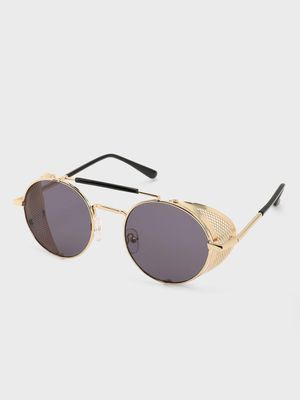 Pataaka Side Shield Round Sunglasses