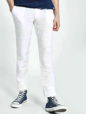 Celio Slim Fit Linen Chinos