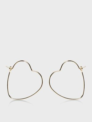 Funky Fish Heart Shaped Earrings (Set Of 3)