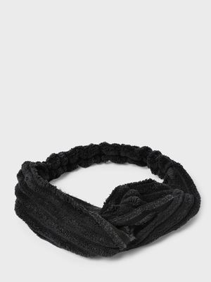Funky Fish Twist-Knot Pleated Headband