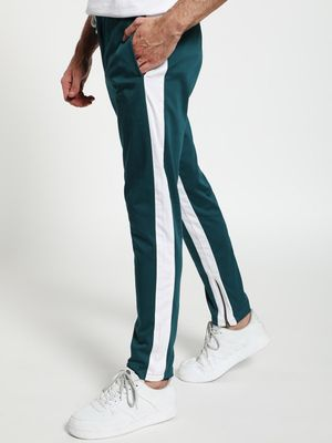 TRUE RUG Contrast Panel Drawcord Trousers