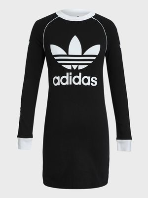 Adidas Trefoil Logo Mini T-Shirt Dress