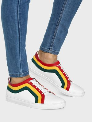 Kindred Colour Block Panelled Sneakers