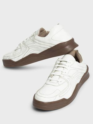 Kindred Multi-Panel Gum Sole Sneakers
