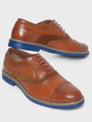 Corso Venezia Brogue Punches Derby Shoes