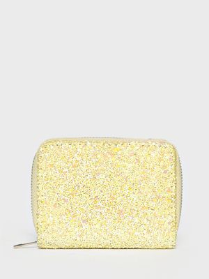 New Look All Over Glitter Wallet