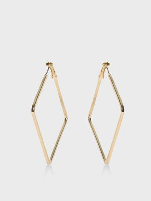 Zero Kaata Square Shape Hoops