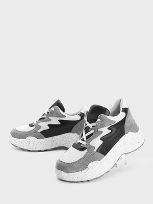 KOOVS Splash Print Chunky Sole Trainers
