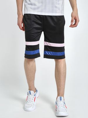 K ACTIVE KOOVS Contrast Double Tape Basketball Shorts