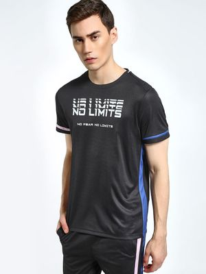 K ACTIVE KOOVS No Limits Contrast Tape T-Shirt