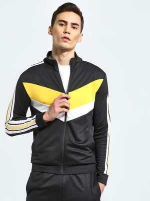 K ACTIVE KOOVS Chevron Side Tape Track Jacket