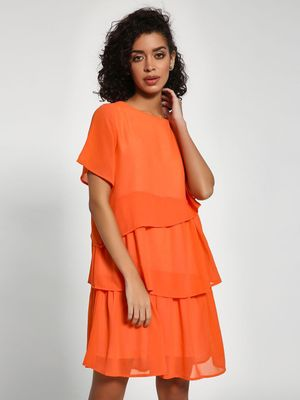 Closet Drama Multi-Tier Shift Dress