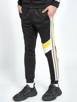 K ACTIVE KOOVS Chevron Side Tape Joggers