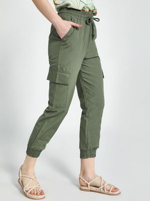 Trendyol Utility Cropped Joggers