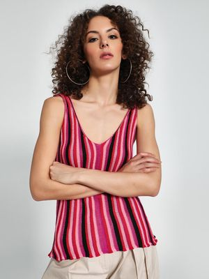Trendyol Multi-Stripe Sleeveless Top