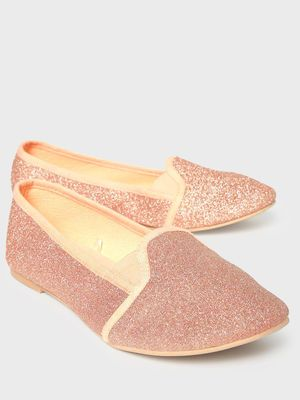 KOOVS All Over Glitter Ballerinas