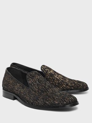 KOOVS All Over Crinkled Loafers