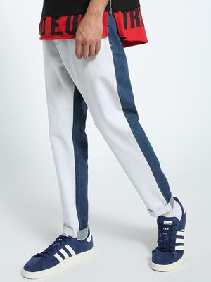 CHELSEA KING Colour Block Regular Jeans