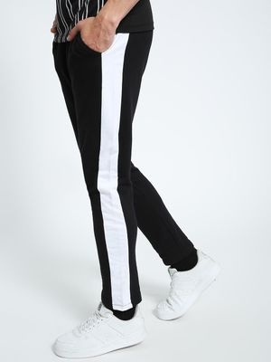 CHELSEA KING Contrast Side Panel Jog Pants