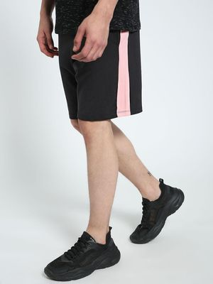 CHELSEA KING Contrast Side Panel Shorts