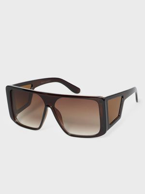 KOOVS Tinted Lens Square Sunglasses