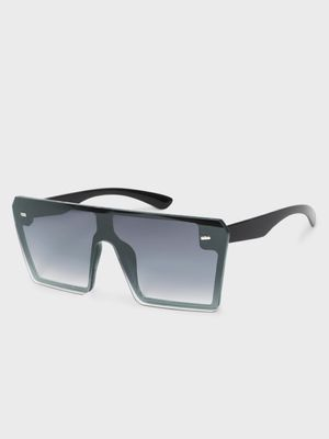 KOOVS Coloured Lens Square Sunglasses